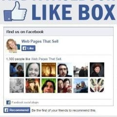 Add a Facebook Like Box to Your Website