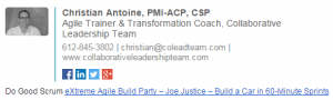 Christian Antione | Email Signature