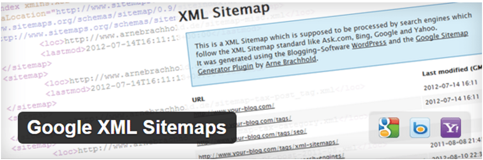 Google xmlSitemap Plugin