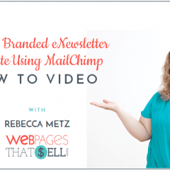 Create a Branded eNewsletter Template with MailChimp