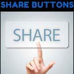 Using Social Media Share Buttons [Video]