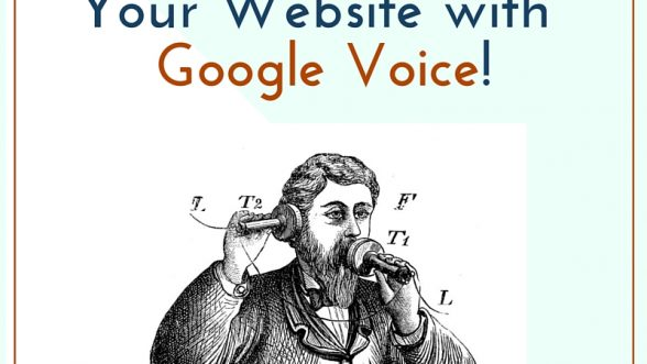 Get More Sales from Your Website with Google Voice