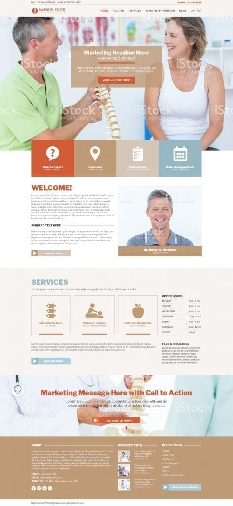 Template Gallery - Website Marketing Solutions - SEO & Web ...