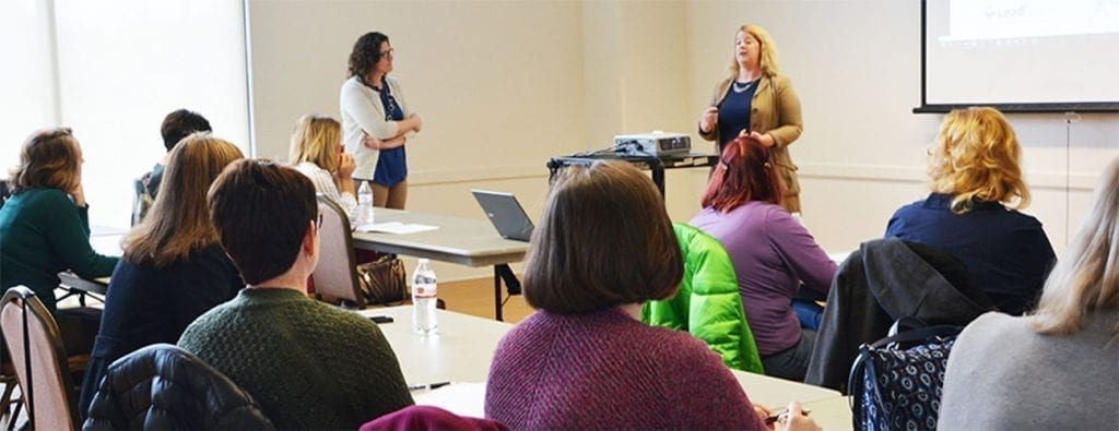 Rebecca Metz and Karen Ybarra Teach Business Building Skills in Branding and Web Site