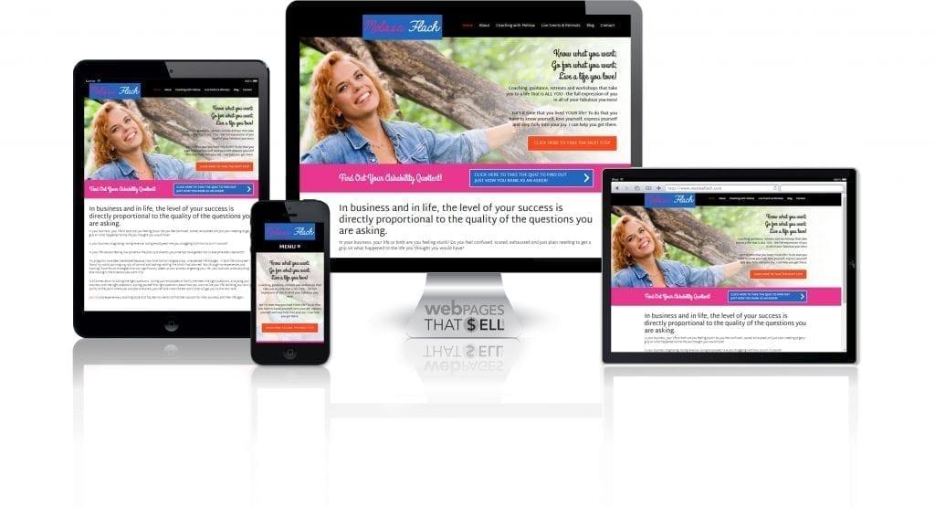 Melissa Flach Website
