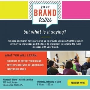Your Brand Talks , , , but what is it saying?